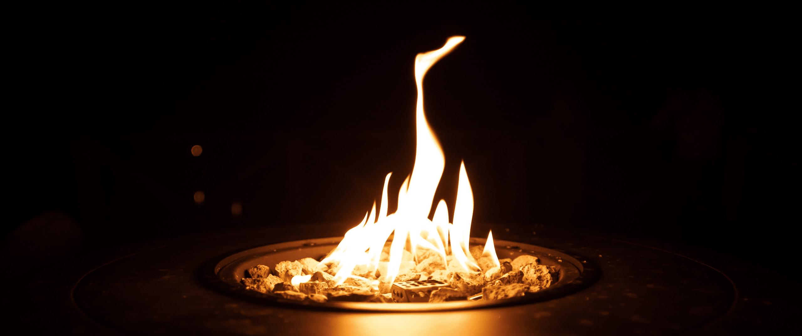 Flamme agréable