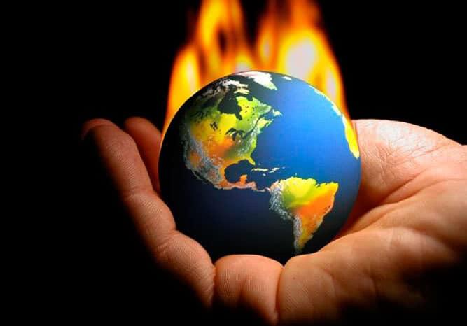 Planète en surchauffe