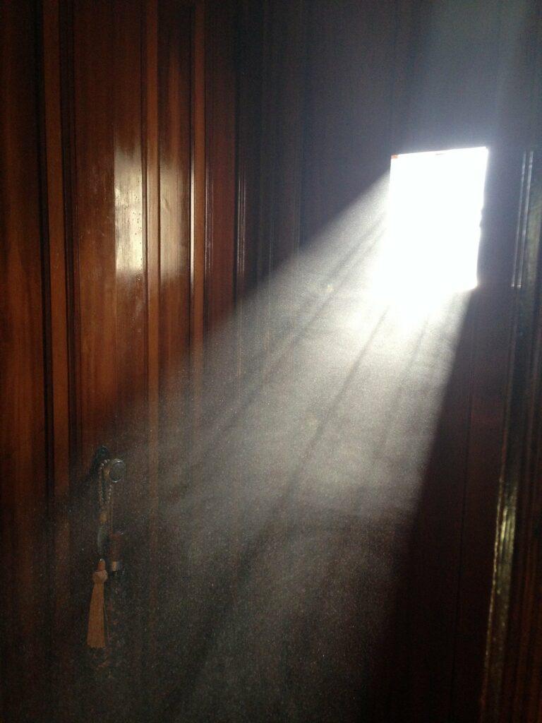 Lumière d'une fenêtre