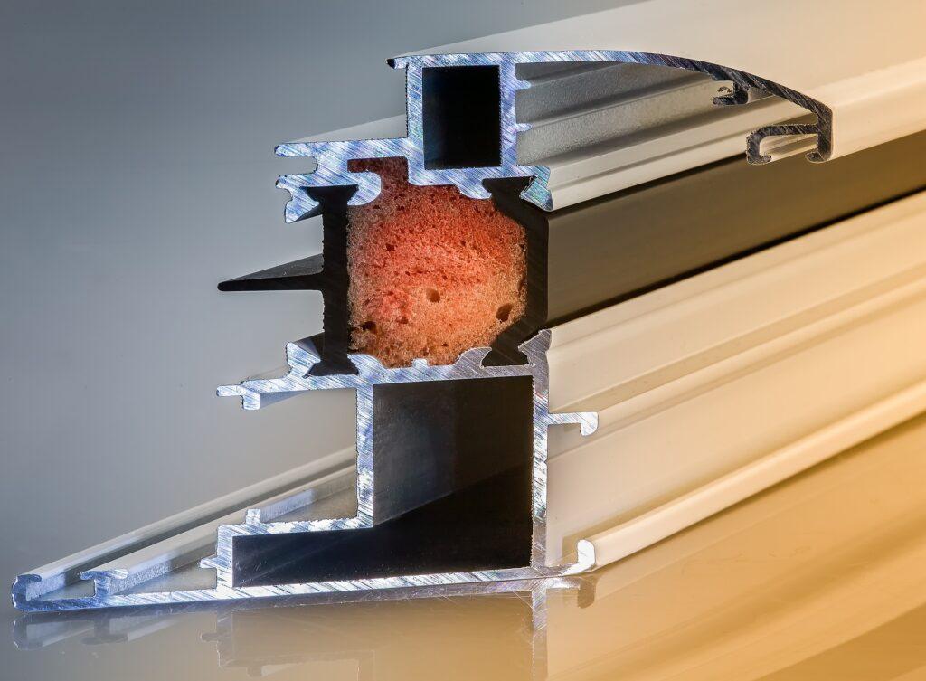 Profilé d'un châssis de fenêtre